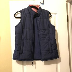 Vineyard Vines Blue Fleece Lined Vest!